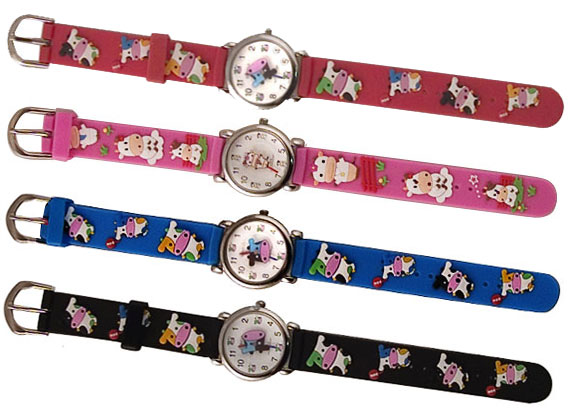 cow kids color watch