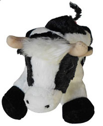 cow kids toy plush