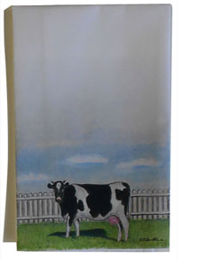 cow napkin cloth