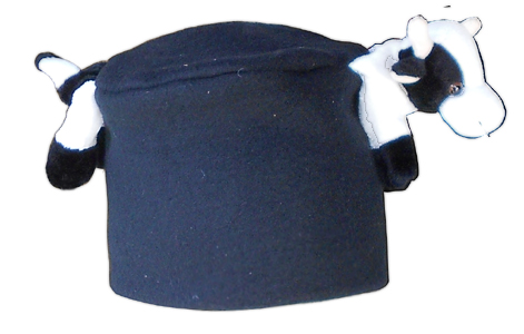 cow kids fashion cap