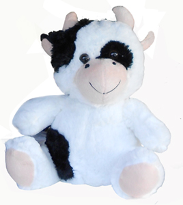 Cow childrens plush toy
