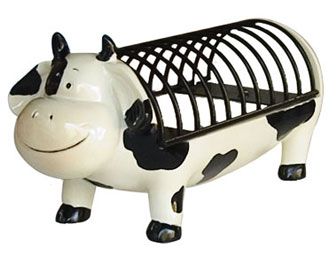 cow cd holder