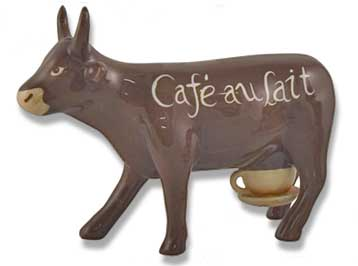 cow parade au lait