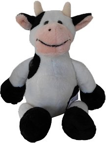 cow party inexpensive plush