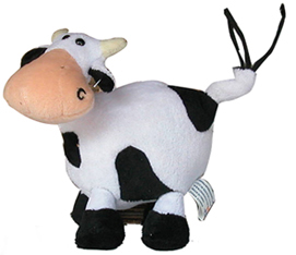 cow plush kids toy