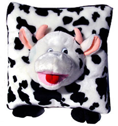 cow kids pillow