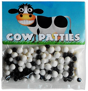 cow party candy patty