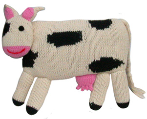 cow baby toy