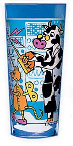 cow designer glass kitchen