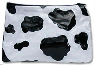 cow makeup bag