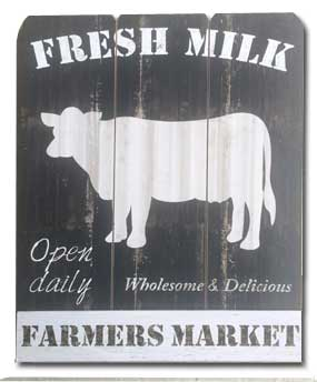Cow  Barn Door Signs