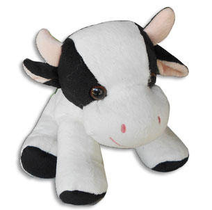 cow childrens birthday plush