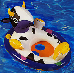 swimming pool cow inflatable