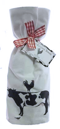cow kitchen flour towels