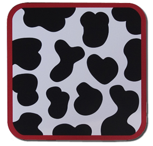 cow kids placemat