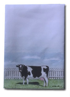 cowdining room tablecloth