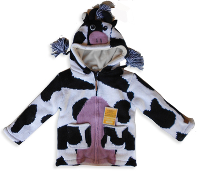 cow kids sweater