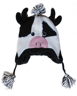 cow winter hat
