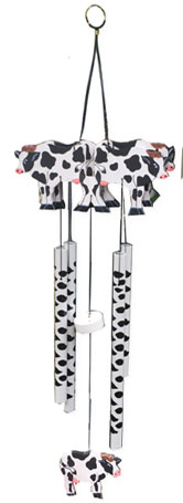 cow windchime
