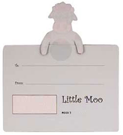 cow little moo bookmarks