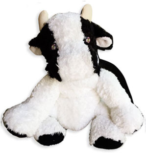 cow kids plush toy
