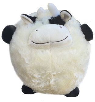 cow pillow pet