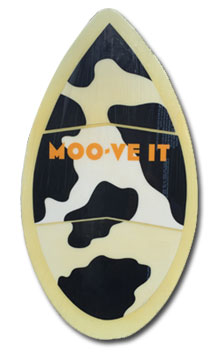 cow skim board