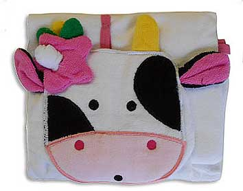 cow infants changing towel