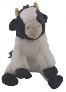 cow kids plush