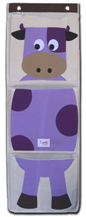 cow shoe kids organizer