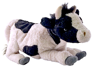 cow kids holstein plush
