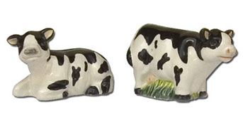cow salt pepper set
