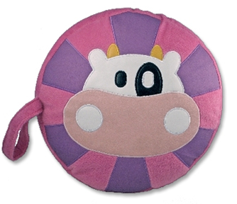 cow kids seat cushion pillow
