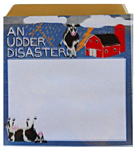cow sticky notes